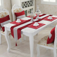 Flannel Diamond Table Runner Party Tablecloth Cloth Mat Pillow Cover Home Decors