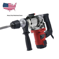 3000 Rpm Electric Demolition Jack Hammer Concrete Breaker Punch Chisel Bit 1050w