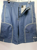 Oakley Mens Size Large 34 Shorts Swim Surf Blue