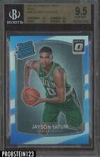 2017-18 Donruss Optic Holo #198 Jayson Tatum Celtics RC Rookie BGS 9.5 w/ 10
