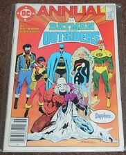 DC COMICS BATMAN AND THE OUTSIDERS ANNUAL #2 1985