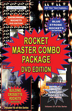 4 dvd combo set Become a rocket master fireworks making
