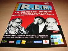 R. E.M - UP TOUR!!!!!!!!!!!!!!!!!!!!!PUBLICITE / ADVERT