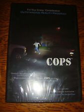 COPS EMMY DVD NEW & SEALED. REALITY COP CHASE TV SHOW FLORIDA & LAS VEGAS EP