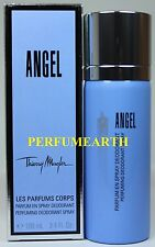 Angel By Thierry Mugler 3.3/3.4oz. Deodorant Spray For Women New In Box