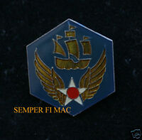 6TH AIR FORCE ALBROOK AFB WWII HAT PIN