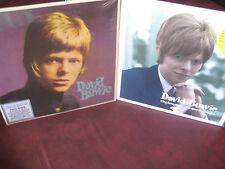 DAVID BOWIE 1966 PYE SINGLES & S/T MONO/STEREO 180 Gram OUT OF PRINT Sealed 3 LP
