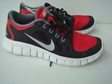 NEW Youth NIKE Free 5.0 Sz 5 Athletic Tennis Shoes Red Black $82