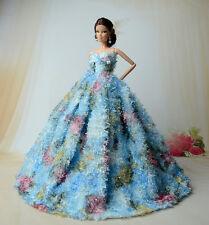 Fashion royalty princess robe/vêtements/robe pour poupée barbie S183u