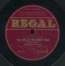 78tk-vocal-REGAL U.K.  G- 8942-Shaun O'Nolan-Tenor w/piano