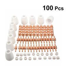 100 x Plasmaschneider Düsen Elektroden Zubehör Set Für LG-40 PT-31 CUT40 CUT50