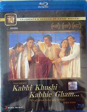 KABHI KHUSHI KABHIE GHAM - BOLLYWOOD BLU-RAY - Amithab Bachchan & Shahrukh Khan