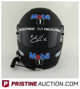 Kevin Harvick Signed NASCAR 2021 Mobil 1 Full-Size Helmet (PA COA)