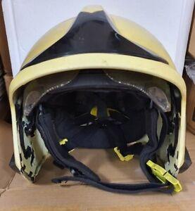 Feurwehr Helm MSA Gallet F1 XF Fire Brigade Sammlerhelm