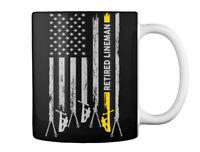 Proud Retired Lineman - Gift Coffee Mug