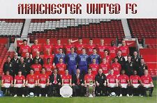 MAN UTD FOOTBALL TEAM PHOTO>2007-08 SEASON