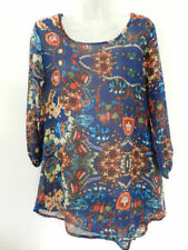 Unbranded Polyester Paisley Machine Washable Tops for Women