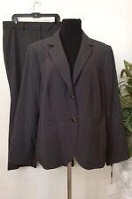NWT Calvin Klein/Ann Taylor Mismatched Women Gray Pant Suit Sz 18W/18  MSRP $280