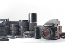 【NEAR MINT】MAMIYA 645 Pro Sekor C 80mm f2.8 N + 150, 300, 55-110mm from JAPAN