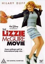 Lizzie McGuire Movie, The * NEW DVD * Hilary Duff (Region 4 Australia)
