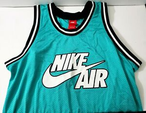 Nike Air Sportswear Charlotte green Mesh Basketball Tank top shirt #82 size L