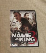 IN THE NAME OF THE KING 3 THE LAST MISSION BRAND NEW FREE SHIPPING