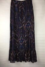 Joie Women's Size XSmall Skirt Long 100% Silk Lined Beautiful