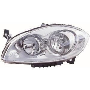 Headlight Right Fiat Linea Year 07- >> H1 +H7 66H