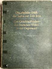 Nordin, Hjalmar J. Die eheliche Ethik, Judaica, Kulturgeschichte, Völkerkunde,