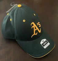 Genuine Oakland A's Adjustable Ball Cap Athletic's Fan Favorite Hat - New W/Tags