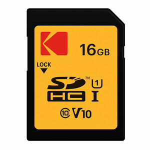 Card for Kodak ZD710 Camera Phone with custom formatting and Standard SD Adapter. 16 Gigabyte Professional Kingston MicroSDHC 16GB SDHC Class 4 Certified
