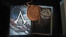 assassins creed 3 medallion and notebook