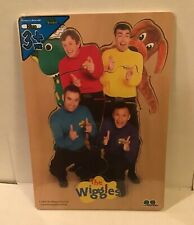 NEW Vintage 2004 Wiggles Wood Puzzles Blue Characters Tree Toys Sealed