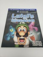 Luigi's Mansion GameCube Strategy Guide - Nintendo Power Official Guide Vintage