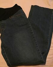 Duo Maternity Woman's Denim Jeans Size Medium Pregnant