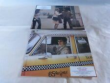 SCORSESE - DE NIRO - FOSTER - Jeu de 3 photos / LC !!! TAXI DRIVER !!!