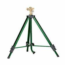 New listing Orbit 58308Z Brass Impact Sprinkler on Tripod Base, Green
