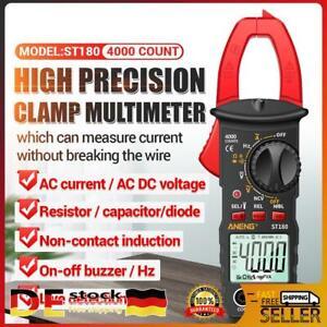 ST180 AC DC Zangen Multimeter Zangenamperemeter 4000 Counts Stromzange NCV Rot