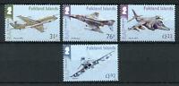Falkland Islands 2018 MNH RAF Royal Air Force Typhoon 4v Set Aviation Stamps