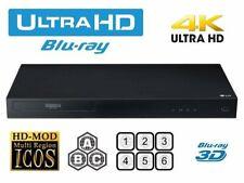 LG UBK80 4K UHD Blu-ray Player, Fully Region Free, Blu-Ray+DVD Multiregion
