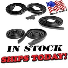 Mopar 68 69 70 Dodge Charger Door/Trunk/Roof Rail MASTER Weatherstrip Seals Kit