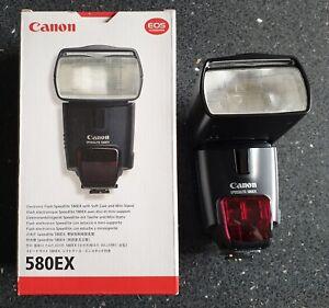 Canon Speedlite 550EX Shoe Mount Flash With Original Box