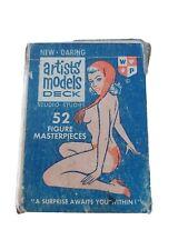 Quartett - Erotik Spielkarten / Artist Models Deck - 52 Figure Masterpieces