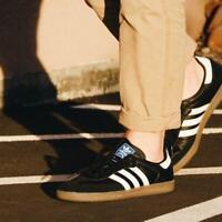 {B75807} Mens Adidas Originals Samba OG Sneaker - Black/White *New!*