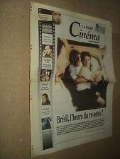LA LIBRE CINEMA 98/162 (9/12/98) CAROLE BOUQUET ERIC CANTONA NICOLAS CAGE WILLIS