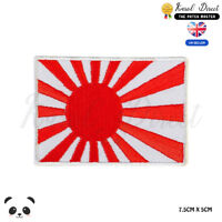 Japan National Flag Embroidered Iron On Sew On PatchBadge For Clothes Bags etc