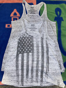 5.11 TACTICAL Women's Flowy Tank Tops Shirts Size S Small Lot Of 2