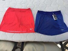 LOT OF 2 Nike Womens Dri-Fit Golf Skirts Shorts SIZE SMALL MEDIUM BRAND NEW!