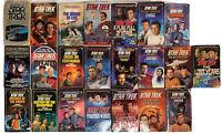 Lot of 22 Vintage Star Trek Paper Back Books Novels