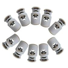 Baoblaze 10x Cord Lock Toggles Drawstring Cord Spring Locks End Button Clasp